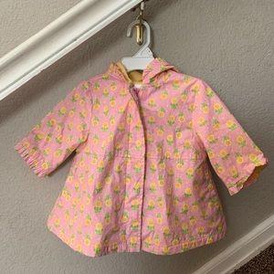 Gymboree Girl 6 to 12 month raincoat